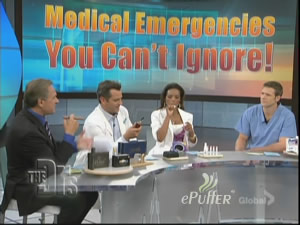 Electronic Cigarette on The Doctor's TV Show 2010