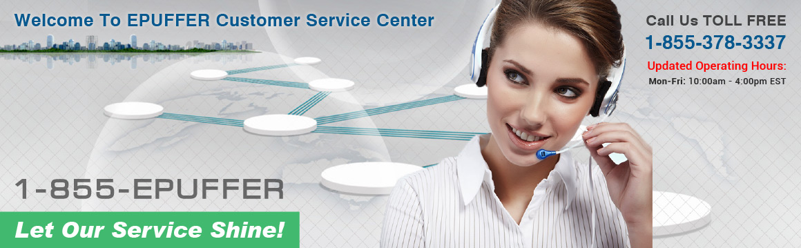 ePuffer Customer Service USA - Contact Us