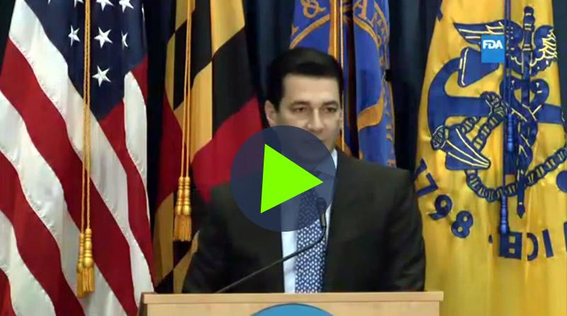Dr. Scott Gottlieb's inspiring Vision FDA