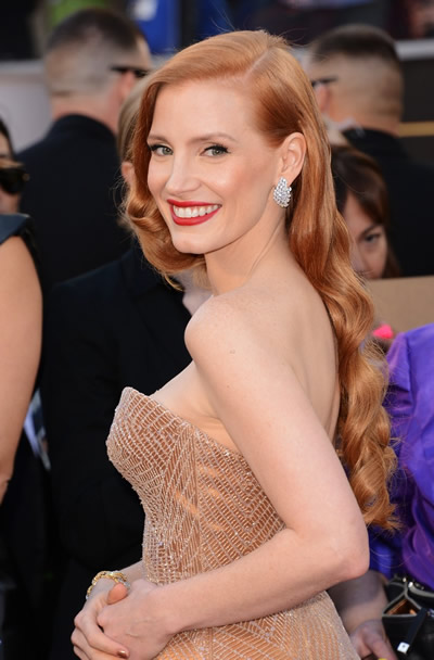 We enjoyed a lengthy chat with Jessica Chastain