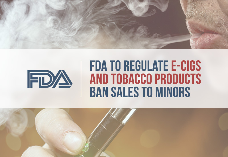 ecig not for sale to minors