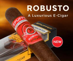 epuffer robusto electronic cigar