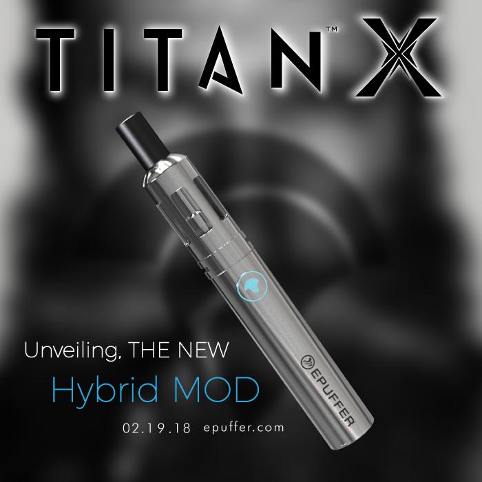 Titan X hybrid mod vaporizer