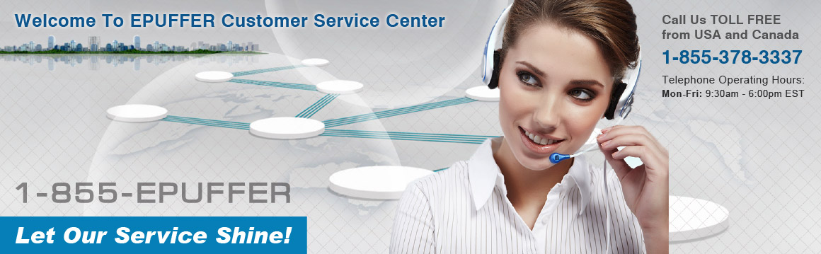 ePuffer Customer Service - Contact Us