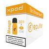 XPOD mango vape pod 30-pack bulk carton