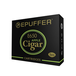 ECIGAR 650 - EPIPE 609 Apple Cartridges