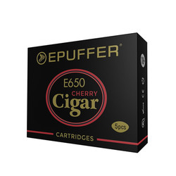 ECIGAR 650 - EPIPE 609 Cherry Cartridges 5-Pack