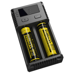nitecore new i2 dual 18650 battery charger