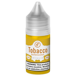Butterscotch Tobacco nicsalt vape eliquid for pod devices