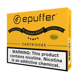 cuban cigar flavor ecigar cartomizers for epuffer 900