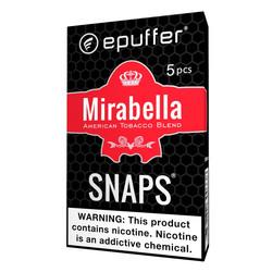 Mirabella tobacco epuffer ecig cartomizers black