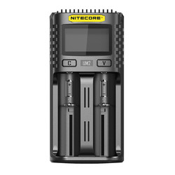 Nitecore UM2 Dual-slot universal battery charger