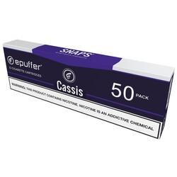 epuffer snaps ecigarette cassis apple vape cartridges 50 pack
