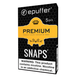 premium tobacco vape ecig cartridges black