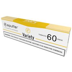 ecigarette vape cartridges tobacco variety