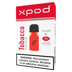 XPOD flue-cured virginia tobacco h vape pod