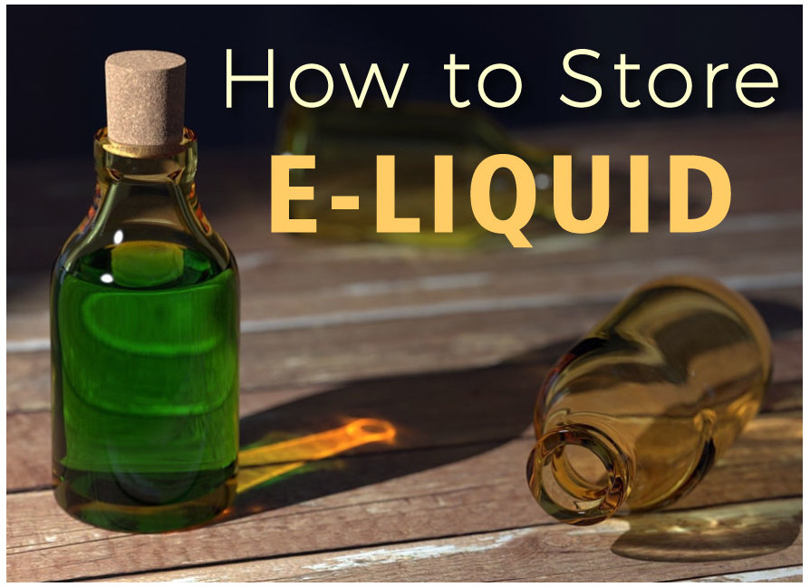 storring a vape juice eliquid