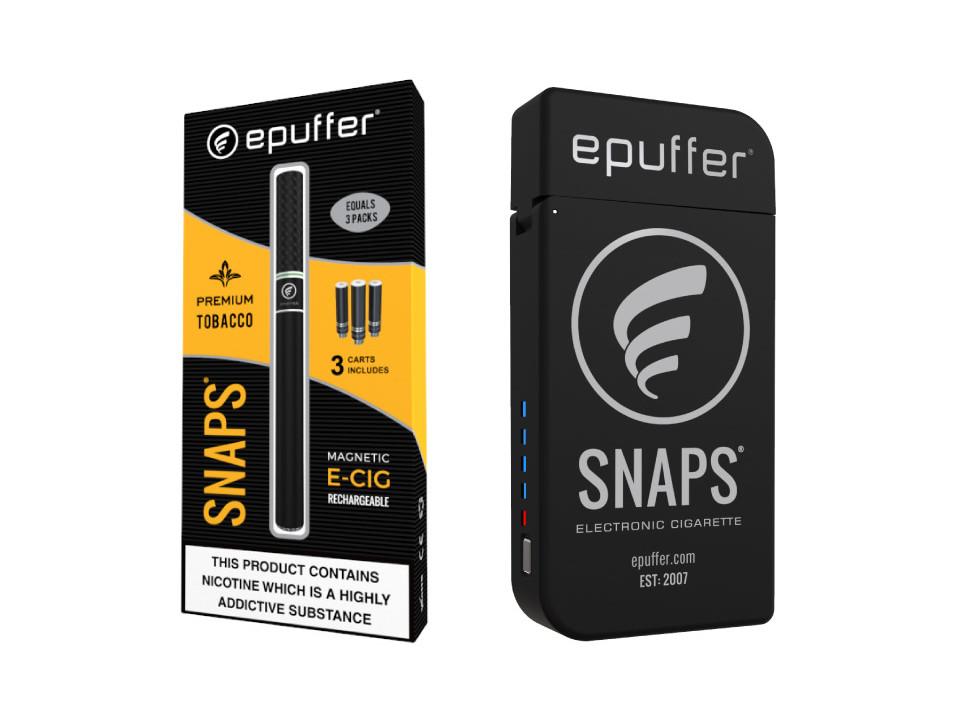 ePuffer Snaps Rev-4 ecigarettes